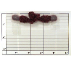 "Fuzzy Pineapple Frog Closure 4"" (12 Sets) 7 Colors"