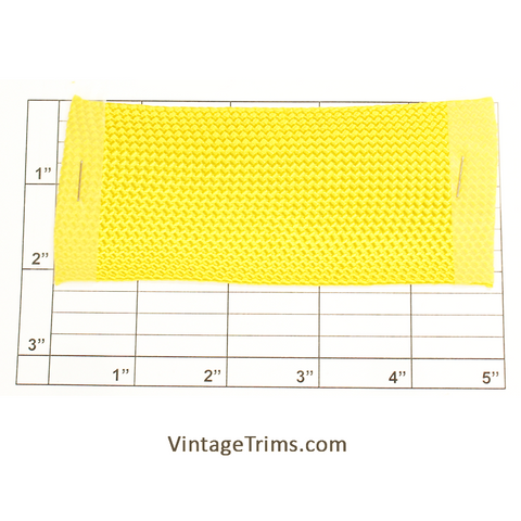 "Flat Braid 2-1/8"" (Per Yard) Canary"