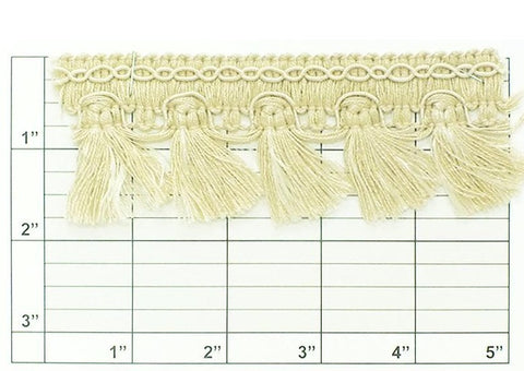 "Wright's Flat Tassel Fringe 1-3/4"" (Per Yard) 19 Colors"