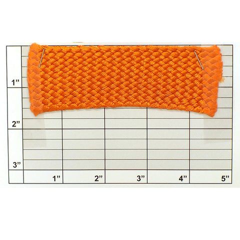 "Braid 1-1/2"" (Per Yard) Orange"