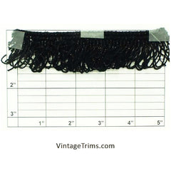 "Loop Fringe 1-1/2"" (Per Yard) 2 Colors"