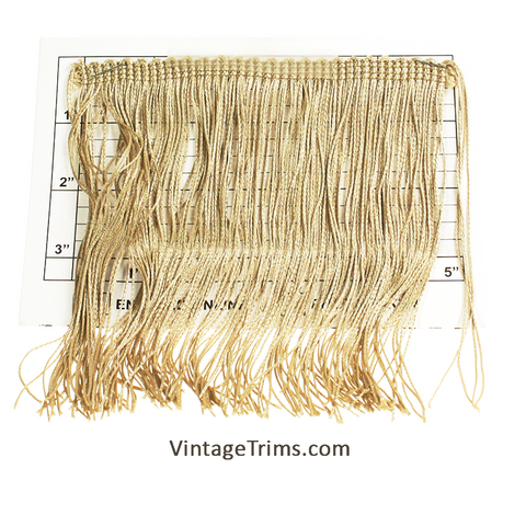 "Chainette Fringe 5-3/4"" (Per Yard) 2 Colors"