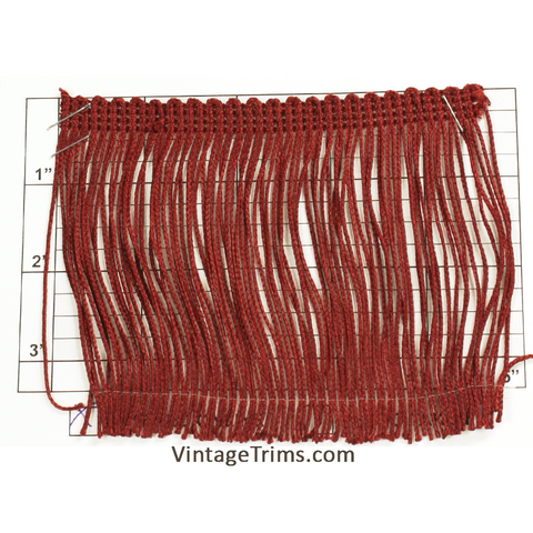 "Chainette Fringe 4"" (Per Yard) 5 Colors"