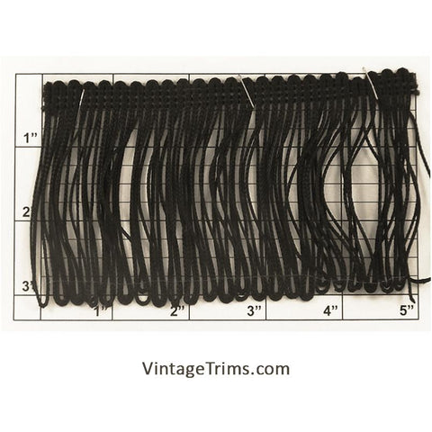 "Loop Chainette Fringe 3"" (Per Yard) 2 Colors"