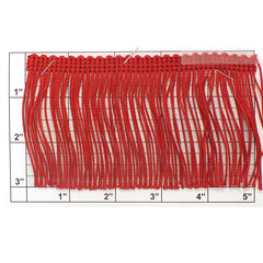"Chainette Fringe 3"" (Per Yard) 5 Colors"
