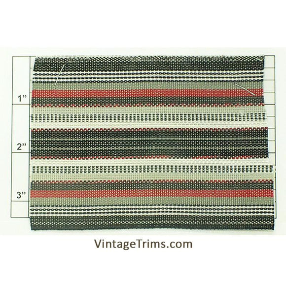 Wide Woven Braid 3-5/8