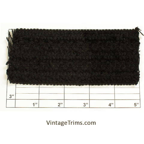 "Elastic 2-7/16"" (Per Yard) Black"