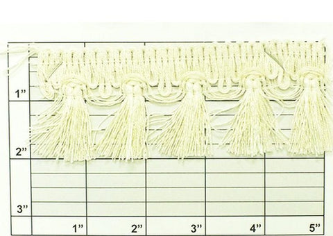 "Tassel Fringe 2"" (Per Yard) 3 Colors"