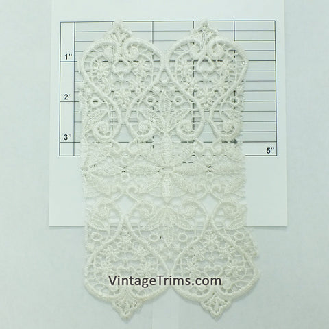 "Venice Lace 7"" (2 Yards) White"