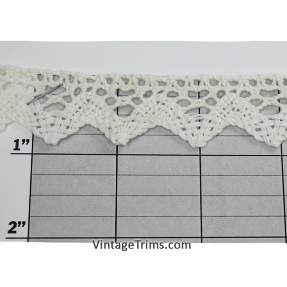 Diamond Point Cluny Lace 7/8