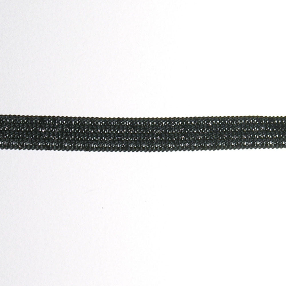 "5/16"" Elastic- Metallic Fabric Trim"