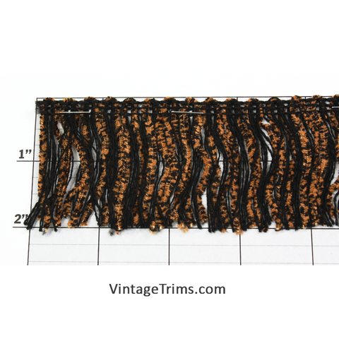 "Jungle Jungle Chenille/String Fringe 2"" (Per Yard) 5 Colors"