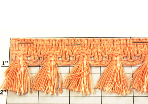 "Tassel Fringe 2"" (Per Yard) 11 Colors"