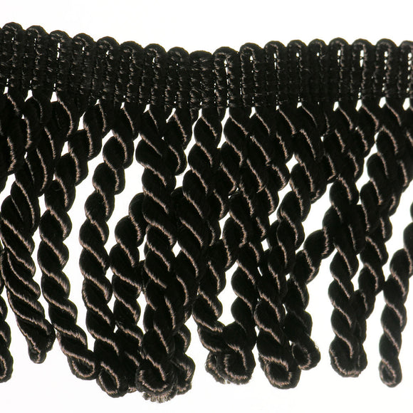 "3"" Chocolate Brown Fringe- Bullion"