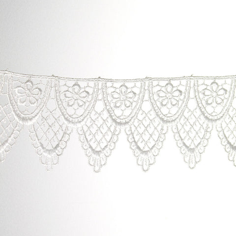 "Venice Lace 2-1/2"" (Per Yard) White"
