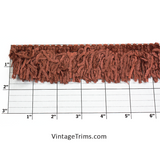 "Versaille Solid Color Rayon Chenille Fringe 1-3/4"" (Per Yard) 24 Colors"