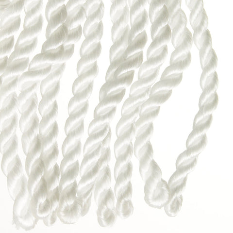 "Rayleen Collection Bullion Fringe 6""<br>(Per Yard)<br>White"