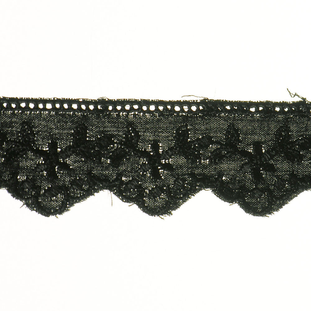 "1"" Lace- Eyelet Fabric Trim"