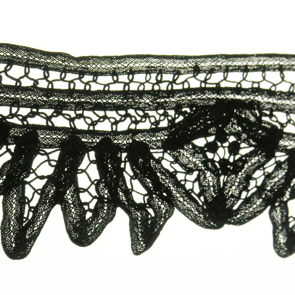 "3 1/8"" Lace Fabric Trim"
