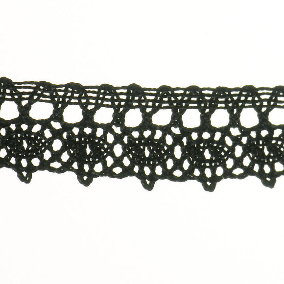"1"" Lace- Cluny Fabric Trim"