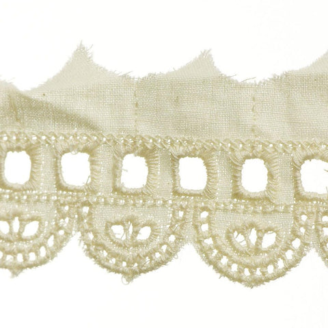 "Eyelet Lace 2"" (Per Yard) Natural"
