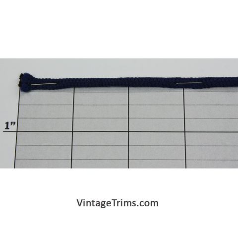 "Drawstring Cord 1/8"" (144 Yard Roll) Bright Navy"
