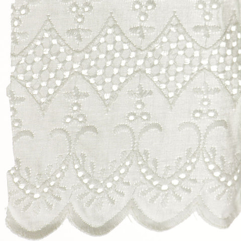 "Eyelet Lace 6-3/4"" (Per Yard) Natural"