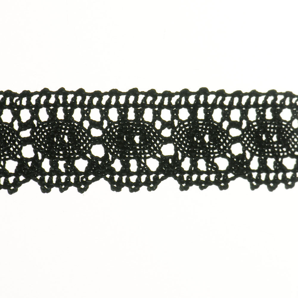 "1 1/8"" Lace- Cluny Fabric Trim"