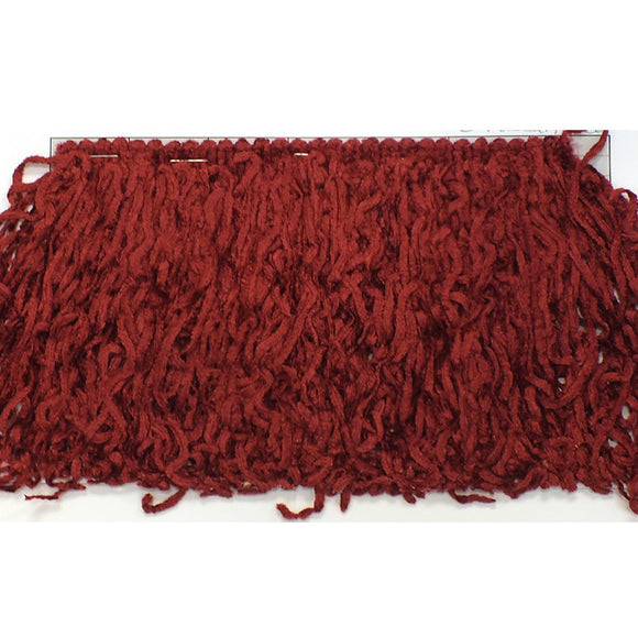 Versaille Solid Color Rayon Chenille Fringe 5