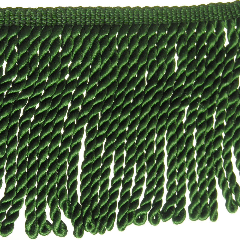 "6"" Forrest Green Fringe- Bullion"