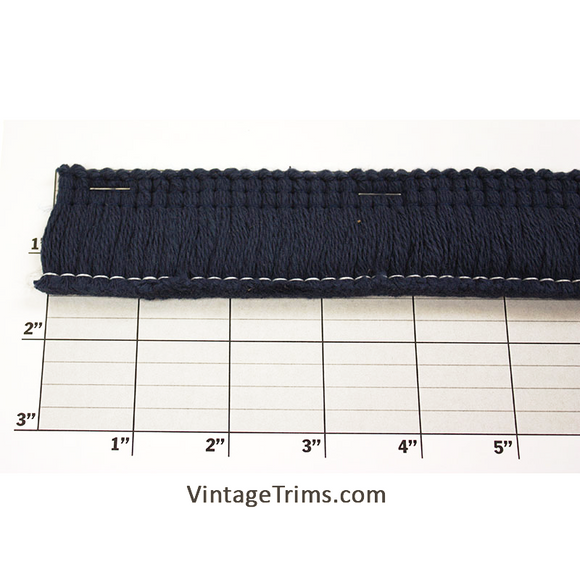 Cotton Fringe Fabric Trim 1-1/2