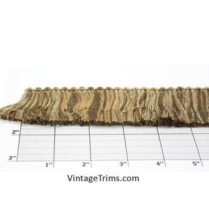 "Brush Fringe 1-3/4"" (Per Yard) Sage Multi"