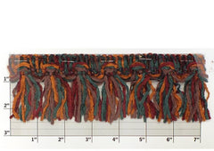 "Versaille Multicolor Chenille Tassel Fringe 2-1/2"" (Per Yard) 17 Colors"