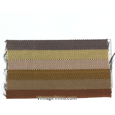 "Chevron Webbing 4""<BR>(Per Yard)<BR>9 Colors"