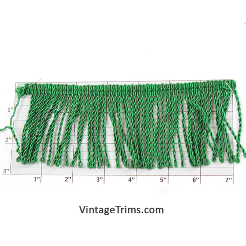 "Chainette Fringe 2-1/2"" (Per Yard) 3 Colors"