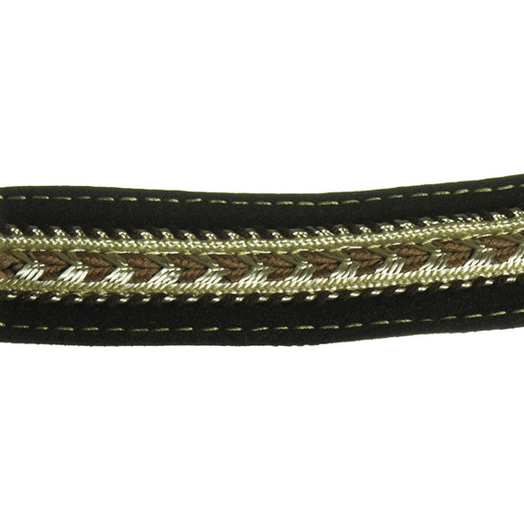 Unique Leather Braid 15/16