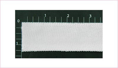 "Elastic Fabric Trim 1"" (Per Yard) White"