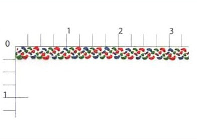 Multi-Color Rayon Braid Fabric Trim