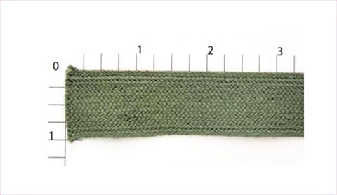 "Flat Braid Fabric Trim 7/8"" (Per Yard) Dark Sea Green"