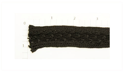 Brown Braid Fabric Trim