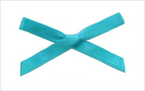 Turquoise Bow (Box of 720)