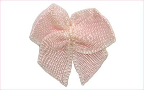 "1"" x 1"" Fabric  Bow 288 pieces (#52)"