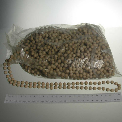 8mm Round Matte Faux Pearls (30 yards) *THREE COLORS*  #10881