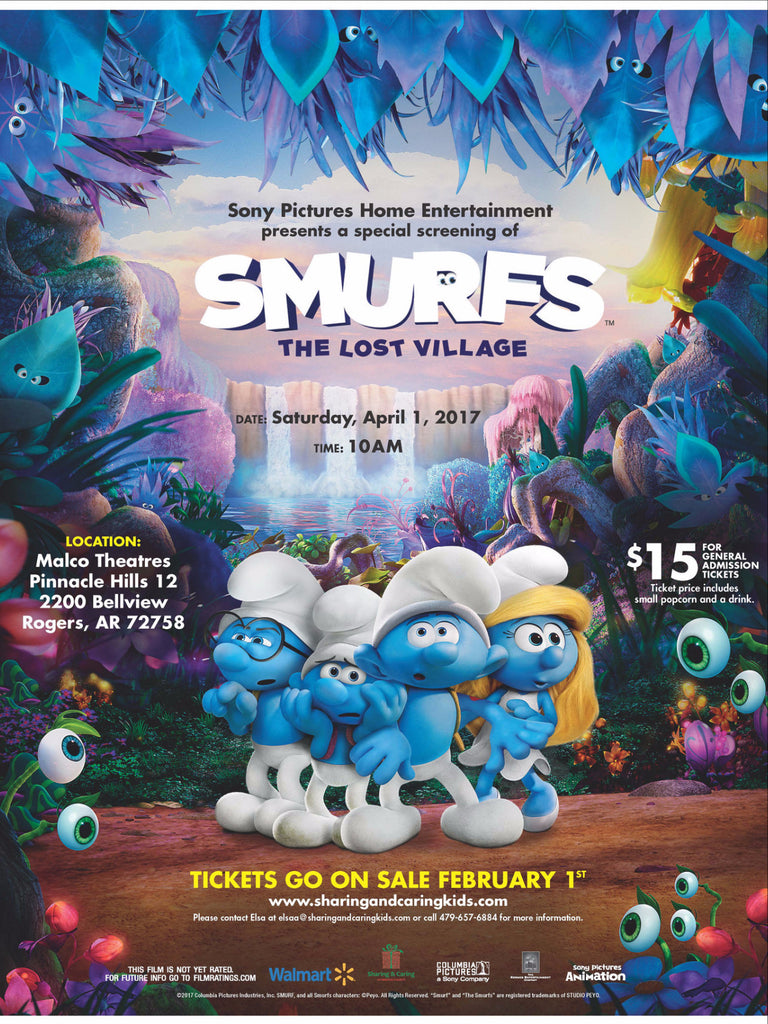 SMURFS, The Lost Village