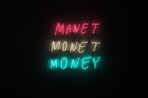 MANET MONET MONEY