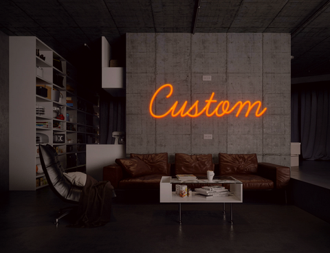 Design Your Custom Neon Sign
