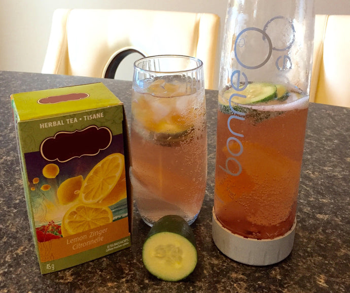 Mother's Day Special: Sparkling Lemon Zinger Tea