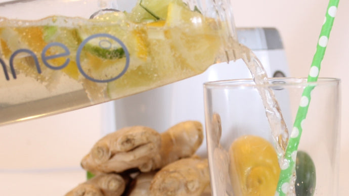 A Naturally Delicious Immunity Boost - Lemon & Lime Infused Ginger Ale