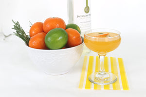 Clementine Rosemary Mimosa - Making the Mimosa Fancy