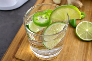 Celebrate Father's Day with a Jalapeño Ginger Spritzer